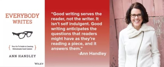 Ann Handley's #writing #quote