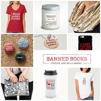 Banned books accessories and clothes