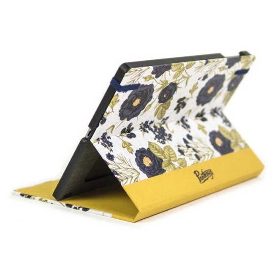 Black Flowers Ultrabook Case for iPad Air