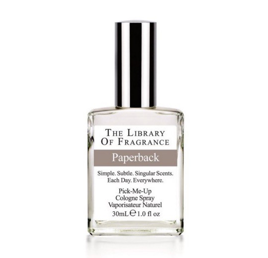Paper-scented perfumes: Demeter Paperback Cologne Spray