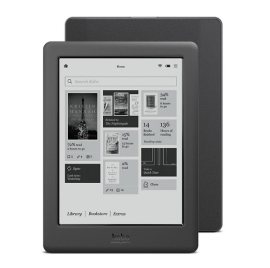 Kobo Touch 2.0 - front and back