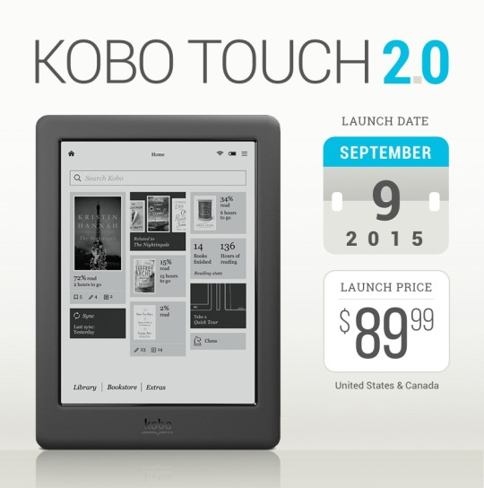 Kobo touch 20 tech specs comparisons launch details and more fandeluxe Image collections