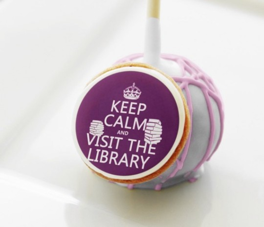 Library Cake Pops