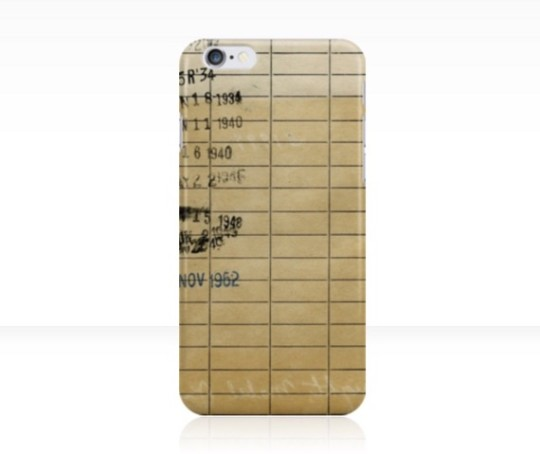 Library Dute Date iPhone 6S Case