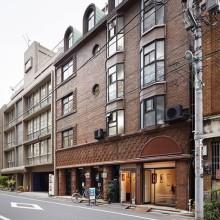 Morioka Shoten bookshop is located in Ginza, Tokyo