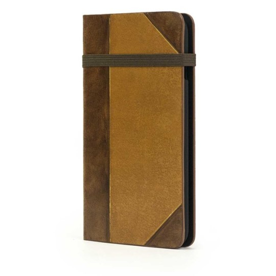 Portenzo iPhone 6S case - Alano Collection Old Book Chestnut
