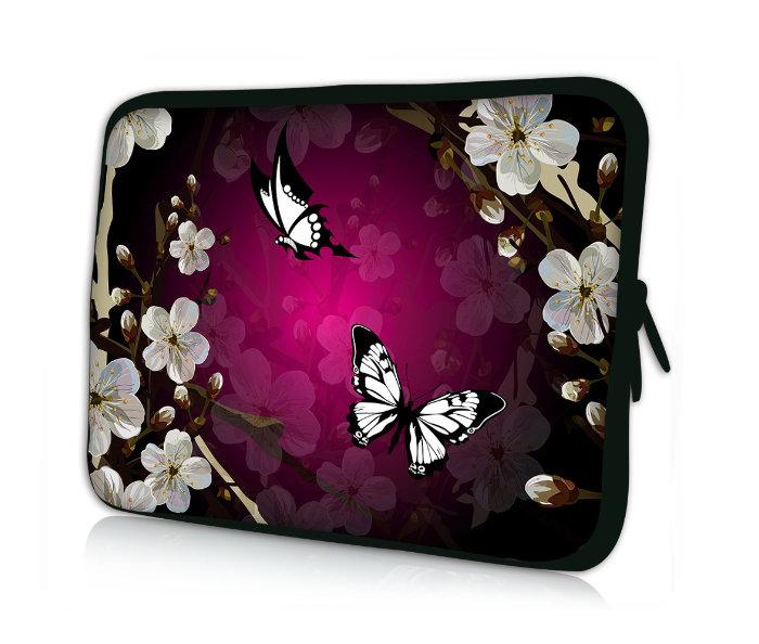 Professional Bags Waterproof Sleeve for 10-inch Tablets - Butterflies