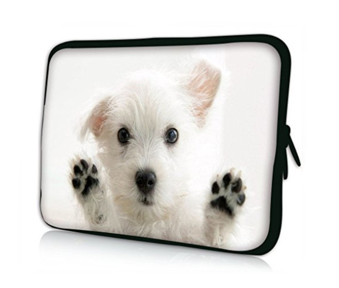 Professional Bags Waterproof Sleeve for 10-inch Tablets - Dog