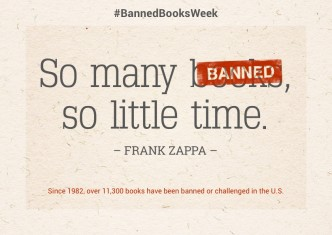 So many (banned) books so little time #BannedBooksWeek