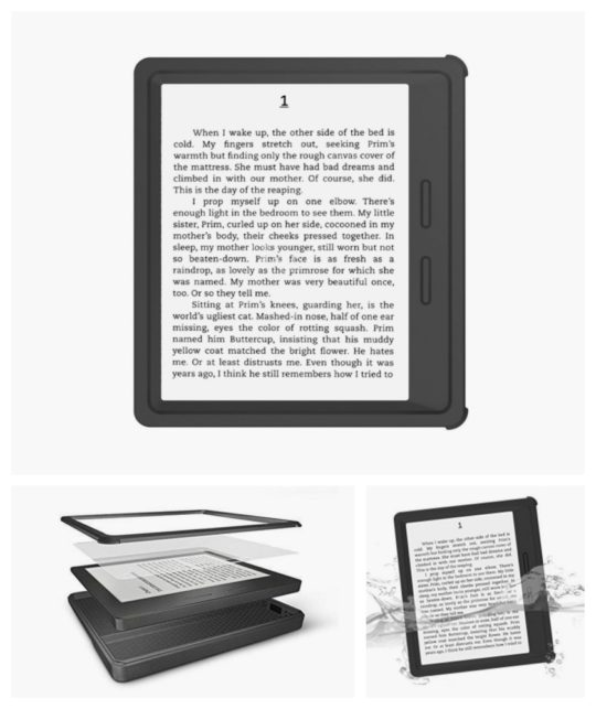 iThrough Waterproof Case for the 1st-generation Kindle Oasis 2016