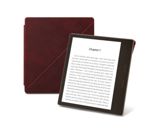 Amazon Kindle Oasis 2017 Premium Leather Standing Cover