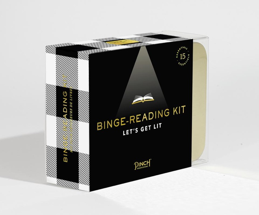 Binge-Reading Kit - best gifts for book lovers