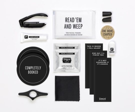 Binge-Reading Kit from Pinch Provisions