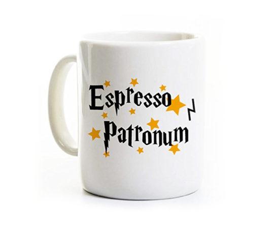 Harry Potter Espresso Patronum Mug