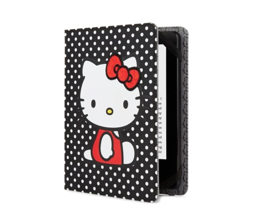 Hello Kitty Kindle Case - Black