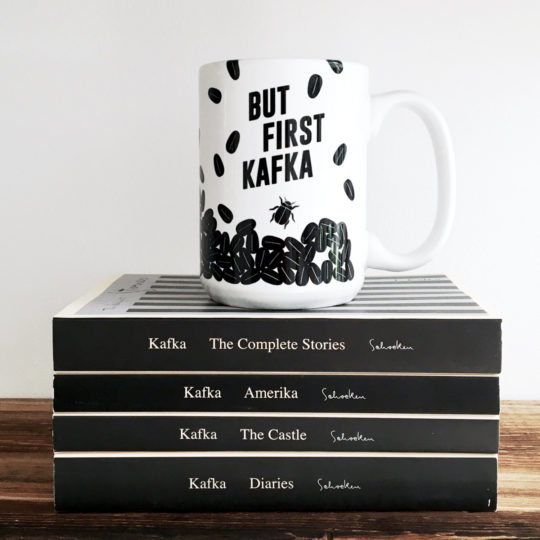 Kafka Coffee Mug from Obvious State
