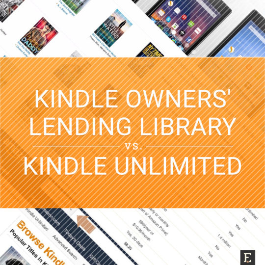 Kindle Owners' Lending Library vs. Kindle Unlimited