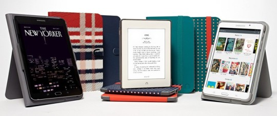 Nook GlowLight Plus comes with a selection of cases and accessories