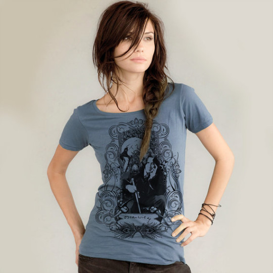 Oscar Wilde Organic Scoop Neck T-Shirt