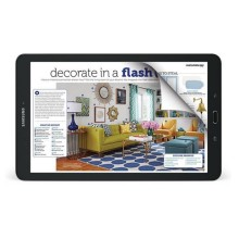 Samsung Galaxy Tab E Nook 9.6 - reading magazines