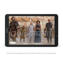 Samsung Galaxy Tab E Nook 9.6 - watching movies