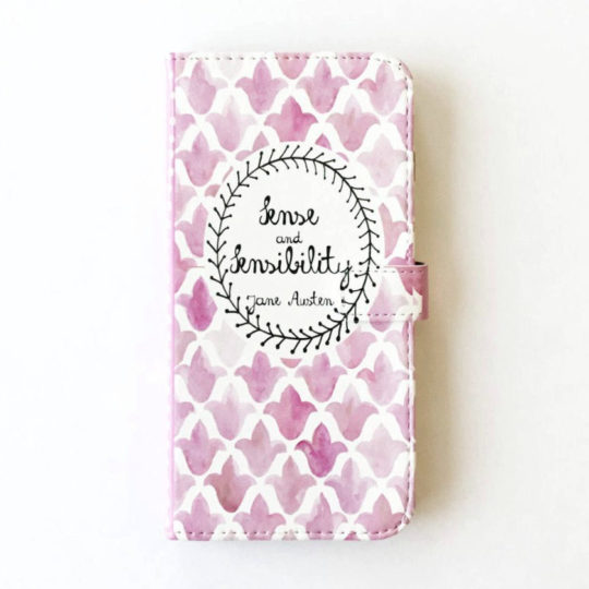 Sense and Sensibility Smartphone Case - best gifts for book lovers