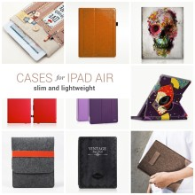 Slim cases for iPad Air 2 and 1