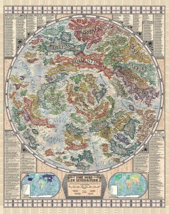 The Map of Literature - how literature evolved from the ancient era to the present day