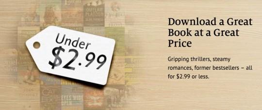 101 Nook books under $2.99 - Black Friday