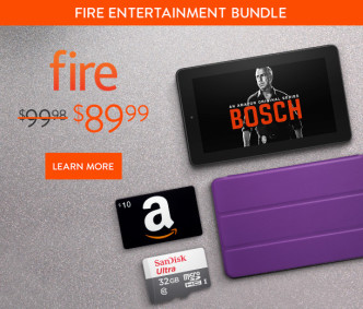 Amazon Fire Entertainment Bundle