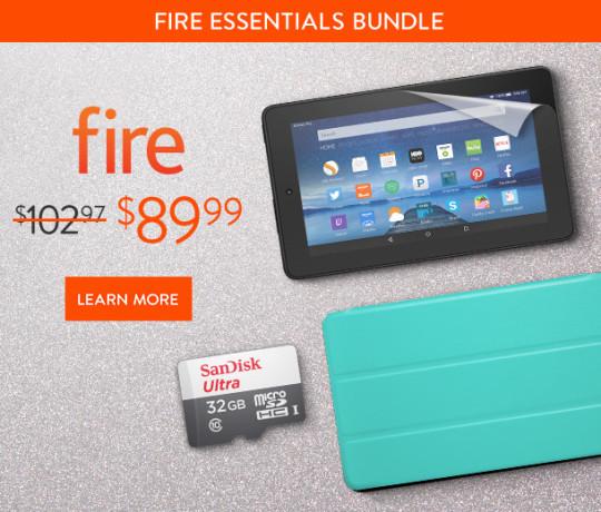 Amazon Fire Essentials Bundle