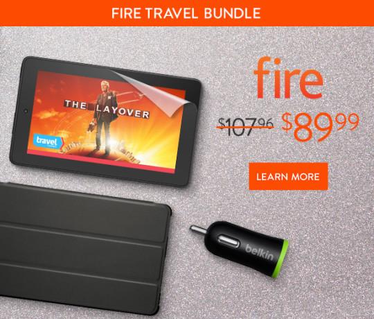 Amazon Fire Travel Bundle