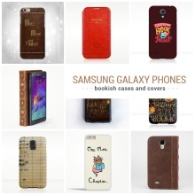 Best bookish Samsung Galaxy phone cases