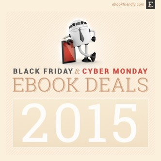 Black Friday and Cyber Monday ebook deals 2015