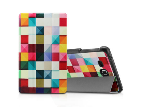 Infiland Tri-Fold Smart Case for Samsung Tab A 7.0