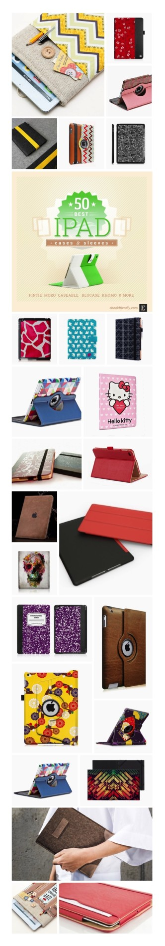 Most interesting iPad case covers #infographic