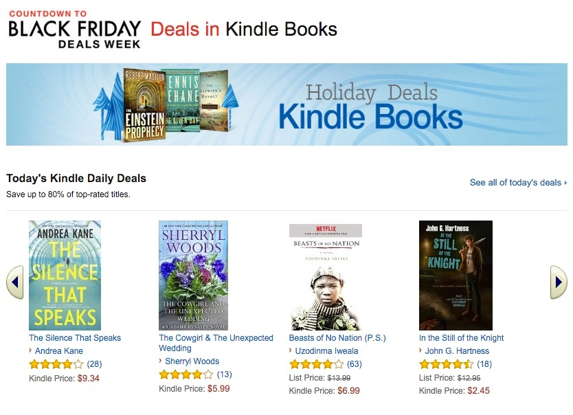 Temporary Kindle Book Deals