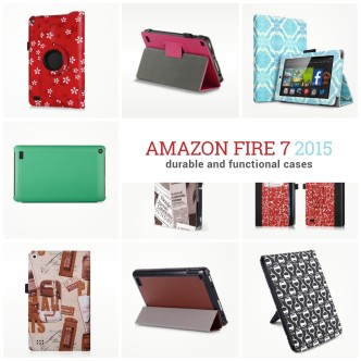 Amazon Fire 7 2015 case covers