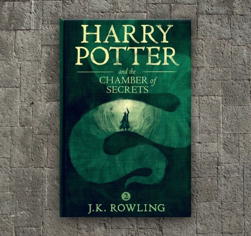 New covers - Harry Potter and the Chamber of Secrets - book 2