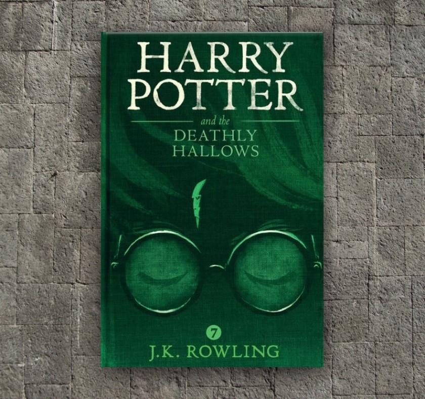 New covers - Harry Potter and the Deathly Hallows - book 7