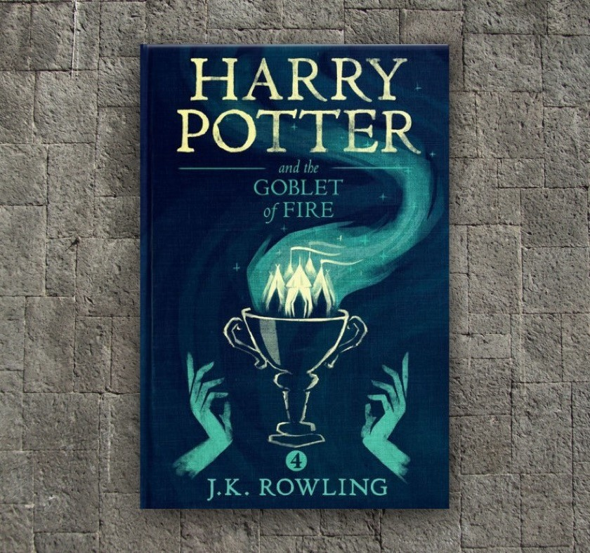 New covers - Harry Potter and the Goblet of Fire - book 4