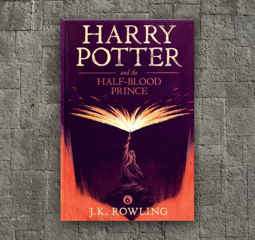 New covers - Harry Potter and the Half-Blood Prince - book 6