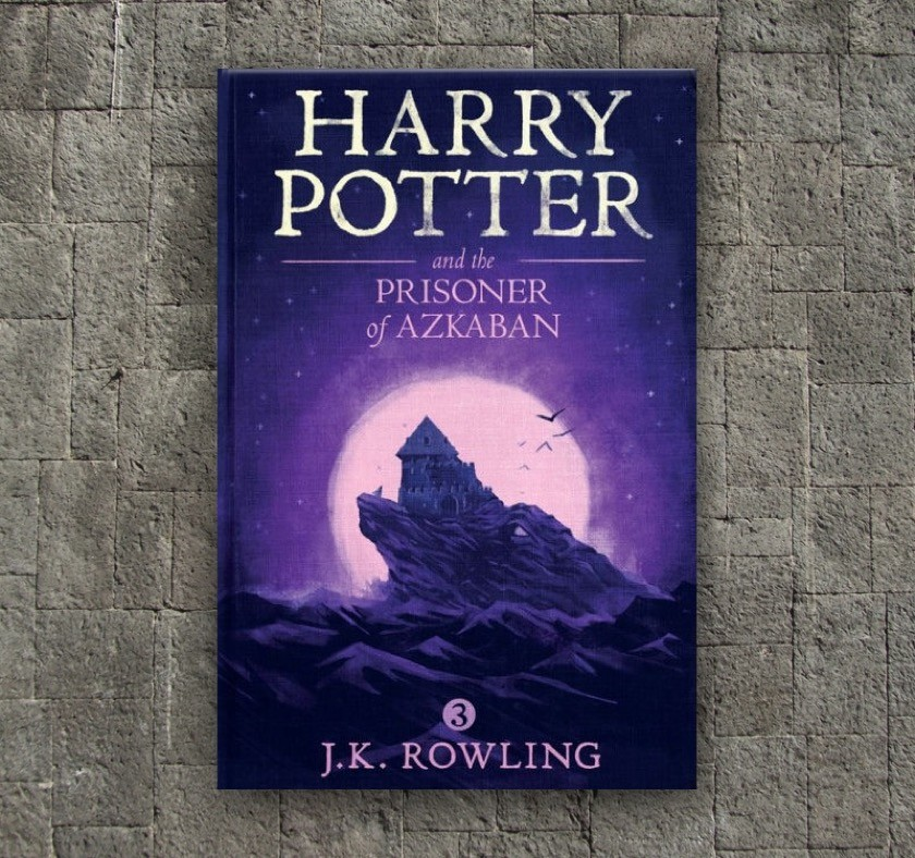 New covers - Harry Potter and the Prisoner of Azkaban - book 3