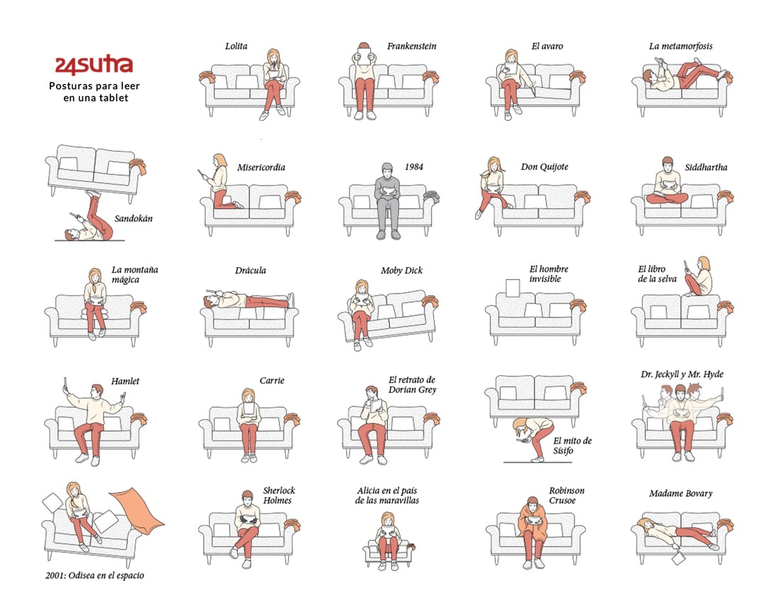 24sutra - many ways to read a book