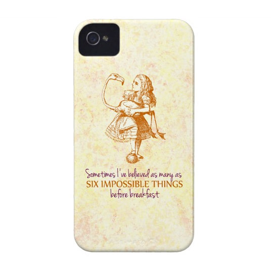 Alice In Wonderland IPhone 4 And 4S Case