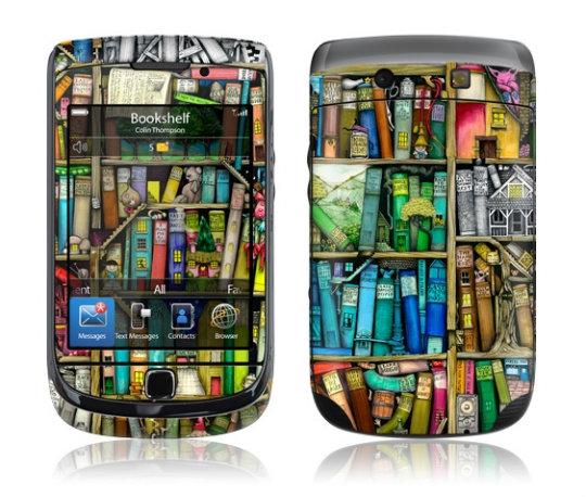 Bookshelf Smartphone Skin from GelaSkins