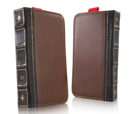 Bookthemed Phone Cases Covers And Skins - Old book case