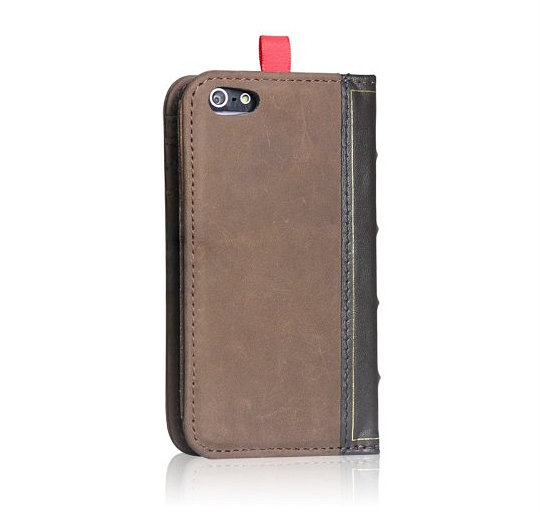 EC Technology Handmade Book-Style Case for iPhone 5