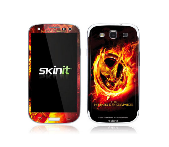 The Hunger Games Cell Phone Skin from SkinIt