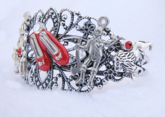 Wizard of Oz Steampunk Charm Bracelet